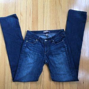 Paige Jeans, Peg Straight, Size 28